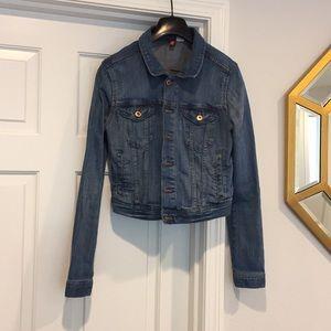 H&M stretch jean jacket
